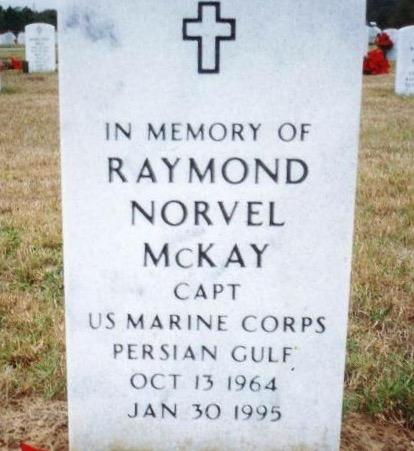 Raymond N. McKay, USMC memorial