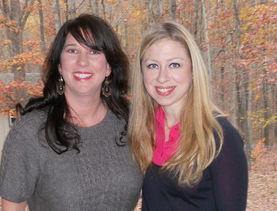 chelsea clinton and The Park Wife