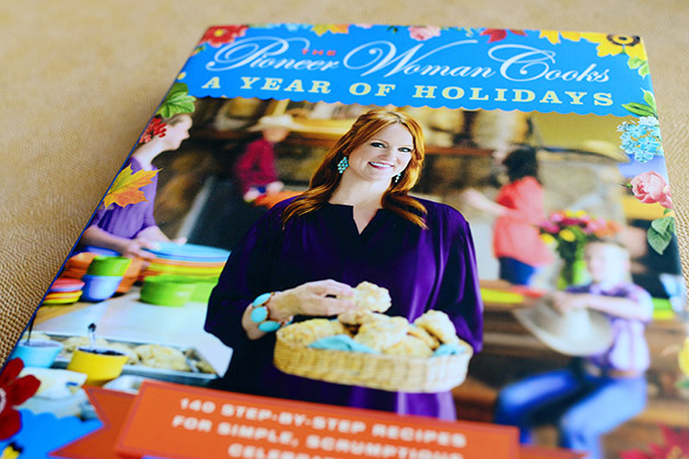 Post image for The Pioneer Woman Cooks: A Year of Holidays Giveaway  {yep, she signed them}
